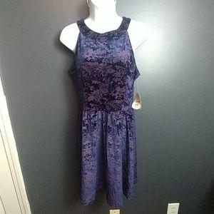 Altar'd State blue / purple new dress NWT